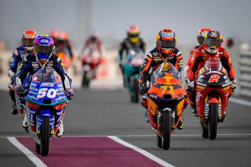 Jason Dupasquier, Ayumu Sasaki, TISSOT Grand Prix of Doha