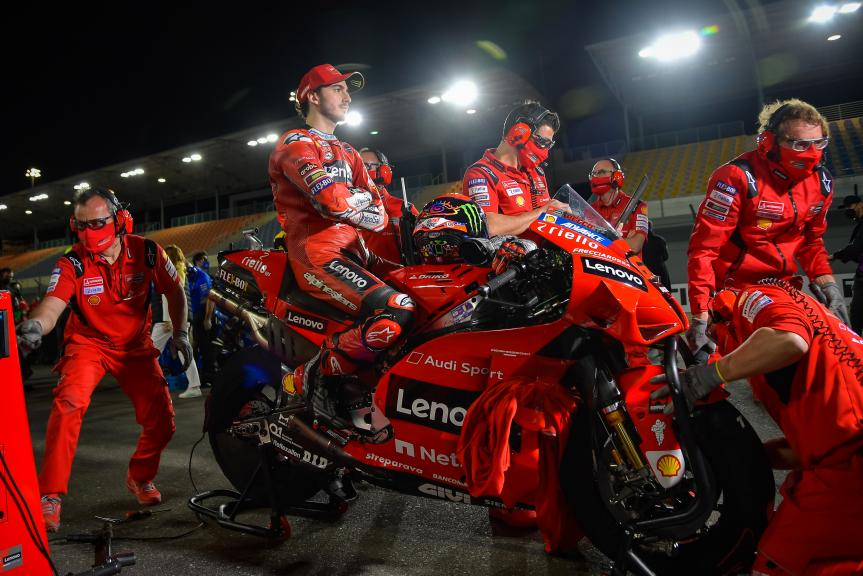 Francesco Bagnaia, Ducati Lenovo Team, TISSOT Grand Prix of Doha