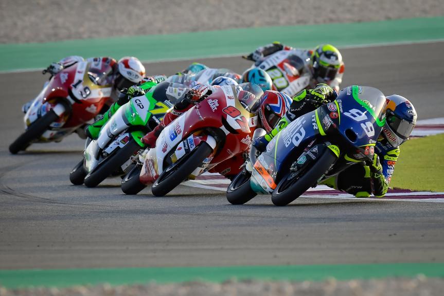 Yuki Kunii, Carlos Tatay, TISSOT Grand Prix of Doha