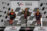 Sam Lowes, Remy Gardner, Raul Fernandez, TISSOT Grand Prix of Doha