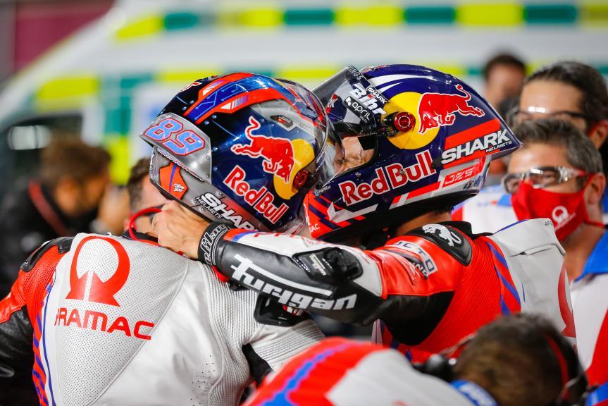 Jorge Martin, Johann Zarco, Pramac Racing, TISSOT Grand Prix of Doha