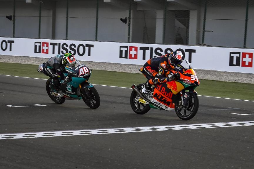 Pedro Acosta, Darryn Binder, TISSOT Grand Prix of Doha