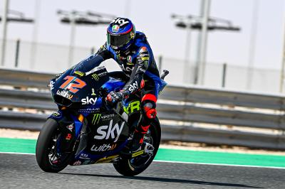 Warm-up Moto2™ - GP de Doha : Bezzecchi s'invite en tête