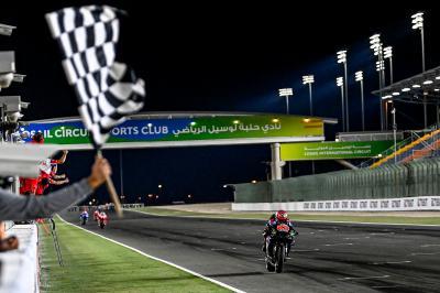 MotoGP™ completa el Top 15 más apretado de su historia