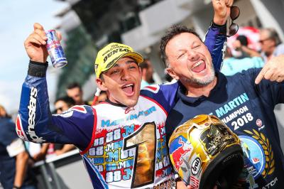 Martin: 'I want to dedicate it to Fausto'