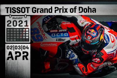 PROGRAMMA: Tissot Grand Prix of Doha
