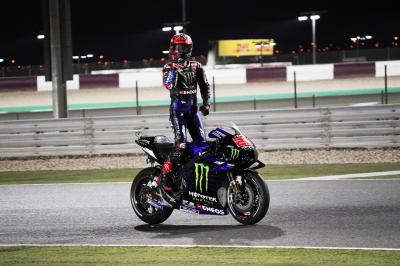 Quartararo se adjudica la victoria en una pelea de perros sin aliento en Doha
