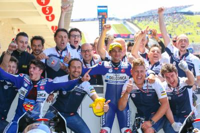 The memory and legacy of Gresini honoured by his graduates