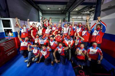 UNSEEN: Pramac Racing's sensational Sunday at Losail