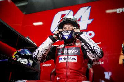 Dovizioso afila sus garras para debutar con Aprilia en Jerez