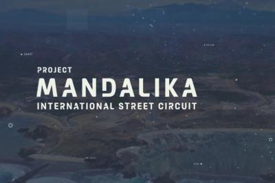 A bird's-eye view of Mandalika Street Circuit's progression