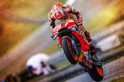 Social media reacts to Marc Marquez's MotoGP™ return