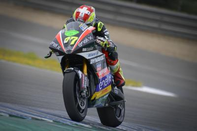 Aegerter sets the pace on opening day of MotoE™ Jerez Test