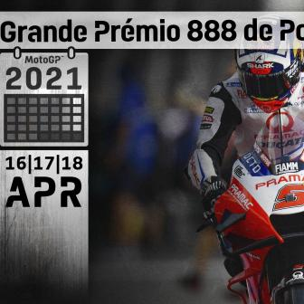 TIME SCHEDULE: Grande Prémio 888 de Portugal
