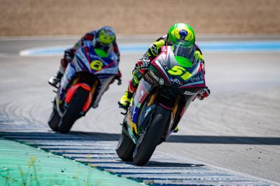 MotoE™: Termina il Test a Jerez, il commento della top 3