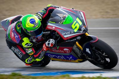 Granado sets new lap record to beat Aegerter in Jerez Test