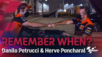 Remember when? Danilo Petrucci & Herve Poncharal