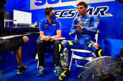 Mir's Crew Chief Frankie Carchedi to miss Portuguese GP