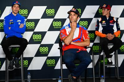 Marquez's rivals give their reaction to his MotoGP™ return