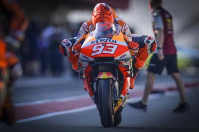 FREE: Marc Marquez completes his comeback with first lap