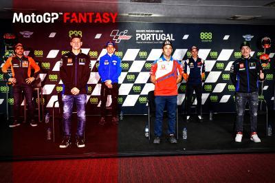 Riders pick their MotoGP™ Fantasy teams for Portuguese GP