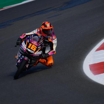 Moto3™ FP3: Migno bringt sich vor dem Qualifying in Führung