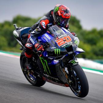 Quartararo Schenllster im MotoGP™ FP4
