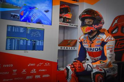 Marc Marquez: Who better to follow than the World Champion?