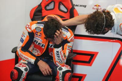 "Marc Marquez overcome with emotion: ""I couldn't hold it in"""