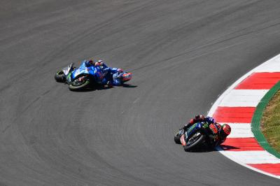 """A real shame"" as Rins' podium hopes vanish in an instant"