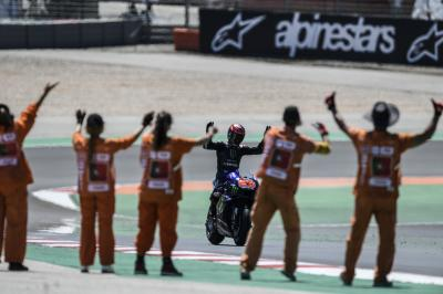 Full MotoGP™ final lap and all the celebrations in Portimao