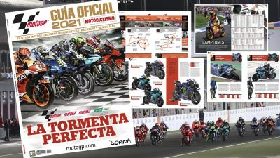 La Guía Oficial MotoGP™ 2021 ya está disponible