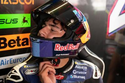 """Bastianini se desmelena: """"Podemos estar delante en Jerez"""""""