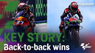 'Key Story' del GP de Portugal: Victorias consecutivas