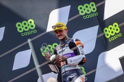 El clic mental de Canet para saborear el podio en Moto2™