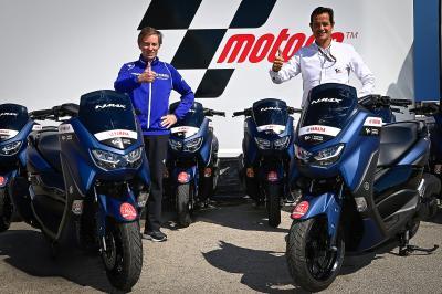 Yamaha continua a fornitore gli scooter al MotoGP™