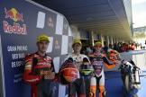 Tatsuki Suzuki, Jeremy Alcoba, Andrea Migno, Gran Premio Red Bull de España