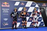Remy Gardner, Fabio Di Giannantonio, Marco Bezzecchi, Gran Premio Red Bull de España