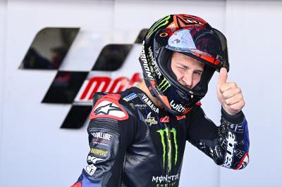 MotoGP™ : Quartararo abonné aux poles en Andalousie