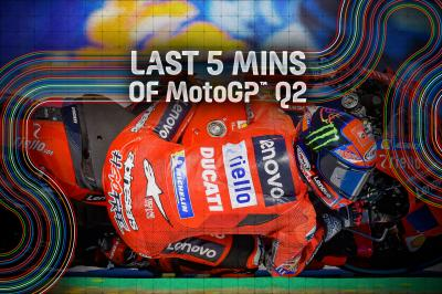 FREE: The final 5 minutes of Q2 from the Spanish GP