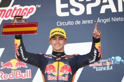 Red Bull Rookies : David Muñoz remporte la première course