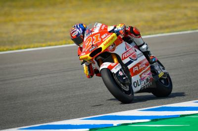 Moto2™ Warm Up: Di Giannantonio P1 in red-flagged session