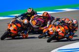 Moto3 Race, Crash Oncu Masia, SPA, 2021
