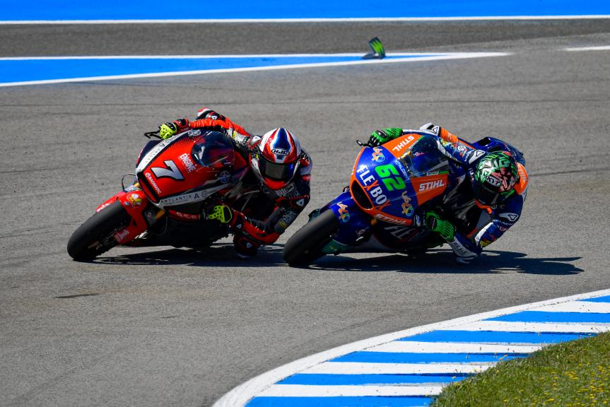 Lorenzo Baldassarri, Stefano Manzi, Gran Premio Red Bull de España