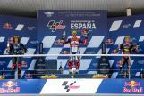 Fabio Di Giannantonio, Sam Lowes, Marco Bezzecchi, Gran Premio Red Bull de España