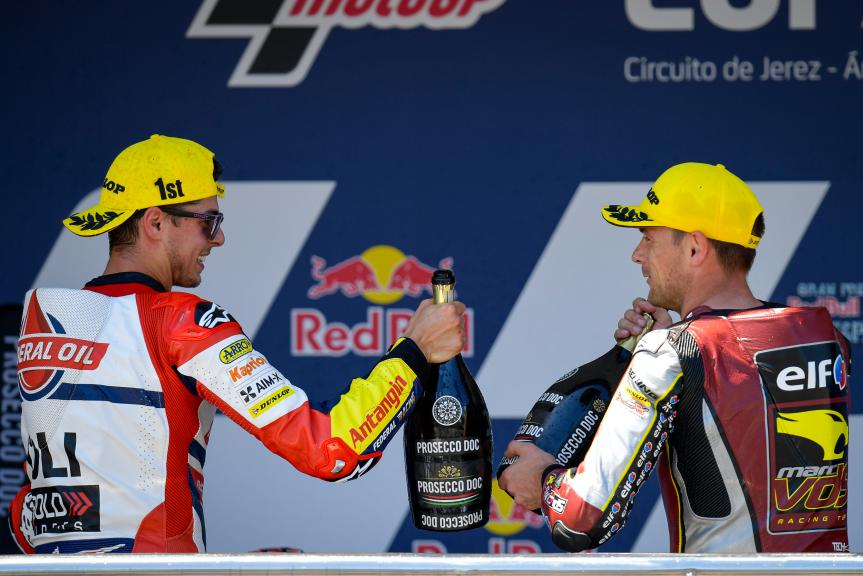 Fabio Di Giannantonio, Sam Lowes, Gran Premio Red Bull de España