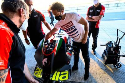 Dovizioso and Aprilia set for second test at Mugello