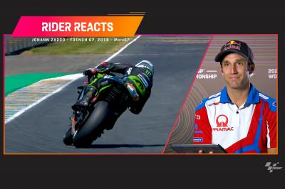 RIDER REACTS: Johann Zarco on his 2018 pole in the French GP