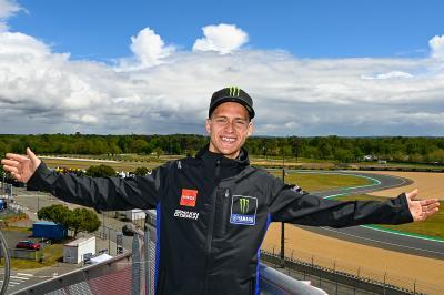 Frankreichs Nationalheld wird gebührend in Le Mans begrüßt