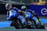 Alex Rins, Joan Mir, Team Suzuki Ecstar, SHARK Grand Prix de France